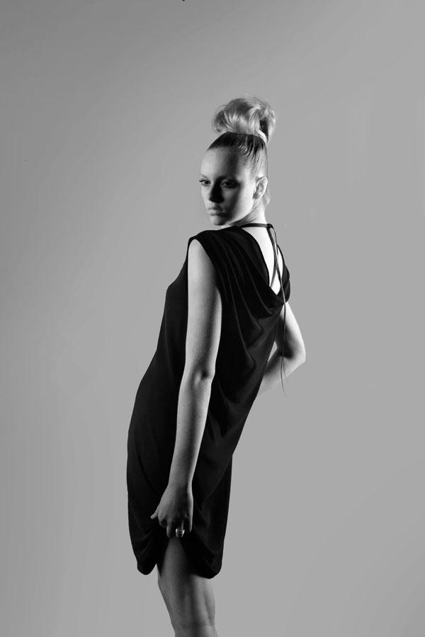 basically black collection, dress. Designer rachel kollerup